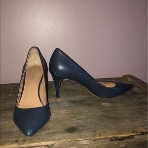 "Calvin Klein ""Gayle"" heels Navy Blue"